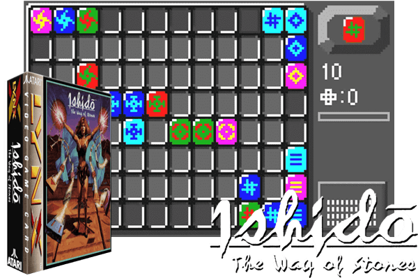 Atari Lynx - Ishido - The Way of the Stones